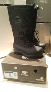 Brand new women's Sorel Snowlion winter boots US7