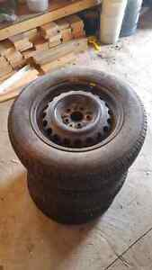 185 65r15 tires and rims Strathcona County Edmonton Area image 2