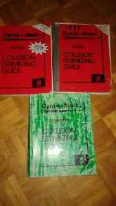 Lot maneul collision estimating guide honda kawasaki