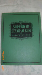 1953 Grossman Stamp Co. The Superior Stamp Album with Stamps