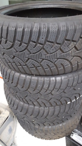 For snow tires for sale like new 225/45/R17