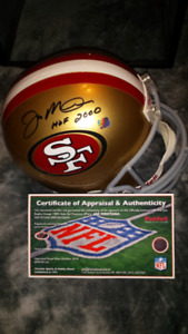 Joe Montana signed, inscribed & authenticated
