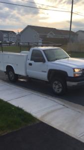 2005HD Utility Truck