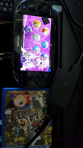 Playstation VITA with 16gb memory card and Persona 4 Golden