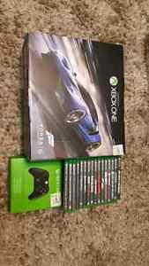 Forza Blue 1 TB Xbox One + 16 games + extra controller