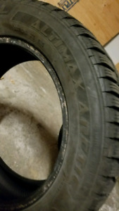 205/60/16 general altimax arctic 1 like new tire
