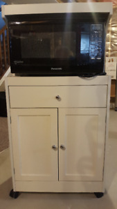 MICROWAVE CABINET AND MICROWAVE