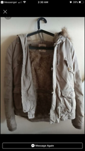 TNA winter coat XL