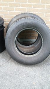 2 x LT225/75R16   Mirage MR HT 172, came off a motor home.