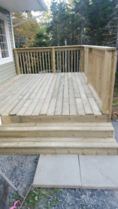 Need a new deck? Check us out