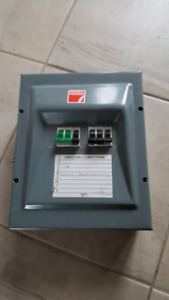 Electrical subpanel with 80A breakers