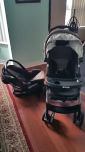 Graco Stroller and Car Seat click connect travel system
