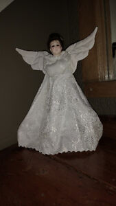 VINTAGE VICTORIAN ANGEL - TREE TOPPER