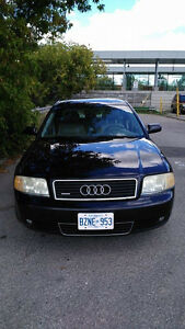 2003 Audi A6  V6 3.0 quattro ,SAFETY,  E-TESTED  VALID!!