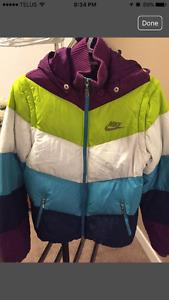 Women's Nike down jacket