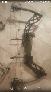 Hunting bow - 2015 Bowtech Carbon Knight