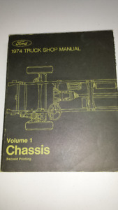 1974 Ford Truck Factory Service Manual