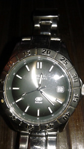 NICE!! MENS FOSSIL STAINLESS STEEL WATCH