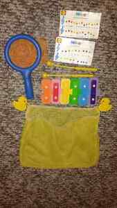 ABC Letter Stickers, Xylophone and net for bathtub fun Windsor Region Ontario image 3