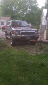 1990 Toyota 4Runner w/only 152000KMS