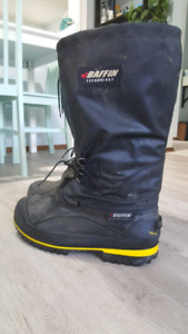 Baffin Rig /winter / work boots. CSA. Carbon toe. Size 12.5