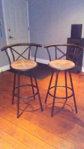 Bar stools great condition brand new