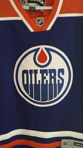 Oilers 30th anniversary jersey