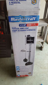 Cast Iron Sump Pump - 1/3 HP - Like New