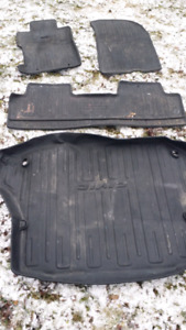 Factory weather floor mats from a 2006 Honda Civic