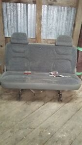 Two snap in bench seats