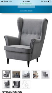 Ikea Wing Back Chair $230