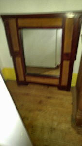 BALONISIAN  WALL MIRROR-$40.FIRM-4''X3'' FROM BALI---VERY UNIQUE