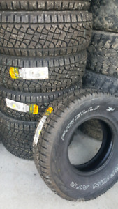 NEW LT 31X10.5R15 PIRELLI ALL TERRAIN TIRES
