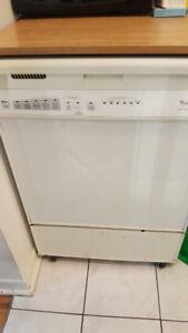 Whirlpool Portable Quiet Wash Plus Dishwasher