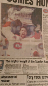 The Gazette - Patrick Roy, Victoire de la coupe Stanley