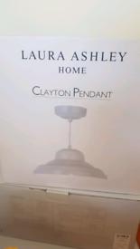 Laura Ashley Clayton Pendant Lampshade- 2 available