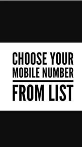Easy to remember 416/647 area code phone numbers