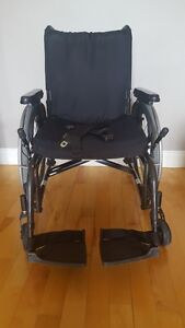 """""""Quickie 2 Lite"""" Wheelchair - gently used,  very good condition"""