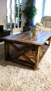 ☆ Rustic Coffee Table -  Accent Table ☆