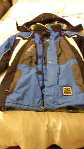 Boys Large Winter Jacket & Snow Pants