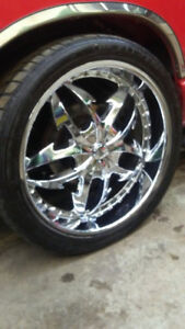 24 Inch Wheels for a Dodge Ram 1500 - Trade for Stock 20's