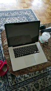 "Mint and full functional MacBook pro 15"" Mid 2010."