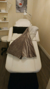 Esthetics/Massage/Tattoo Bed & Chair and Stool
