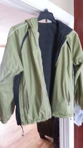 Jacket sport doublé polar réversible - femme- médium