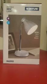 Portable Flexi Desk Lamp New