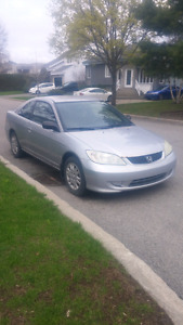 2005 HONDA CIVIC LX 2DR COUPE