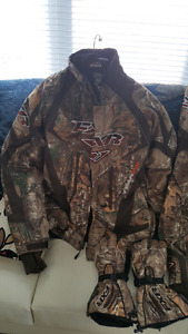 Fxr team fx camouflage mens xtra large winter suit