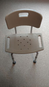 Medical Bathroom Safety Shower Chair (Like New)