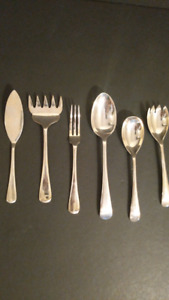 Atkins Brother's English Silver plated Serving Pieces