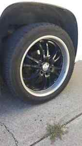 """BOSS 22"""" Rims With All New Tires!"""